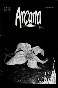 Issue one of Arcana by T.S. Wells and Rob Clark.